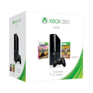 Xbox 360 E 250GB Spring Value Bundle by Microsoft
