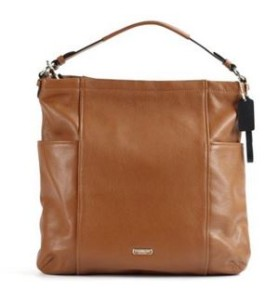 Coach Park Saddle Brown Leather Hobo Shoulder Cross-body coach bag on sale