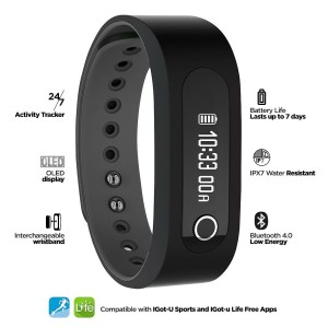 Jarv SMART BT Bluetooth 4 0 Activity Tracker and Smart Watch with OLED Display G Sensor Sleep Tracker and Smart Notifications