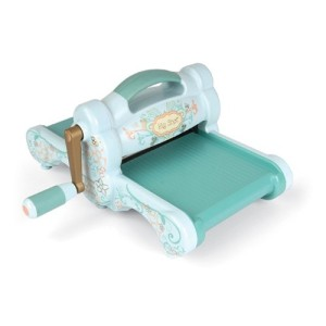 Sizzix 657900 Big Shot Cutting Embossing Machine with Extended Multipurpose Platform Powder Blue Teal