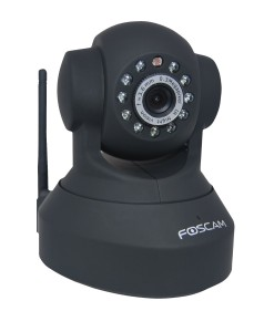 Foscam Wireless Wired Pan and Tilt IP Network Camera with 8 Meter Night Vision and 3 6mm Lens 67 degree Viewing Angle