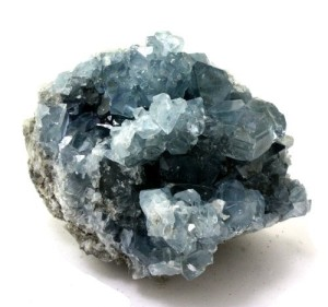 Crystal Allies Specimens-Natural Blue Celestite Crystal