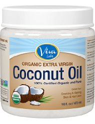 Viva Labs The Finest Organic Extra Virgin Coconut Oil,
