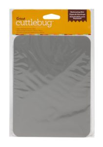 Cuttlebug Cricut Cut and Emboss Dies, Rubber Embossing Mat