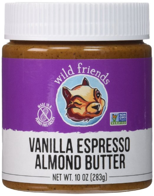 Wild Friends Foods Almond Butter, Vanilla Espresso