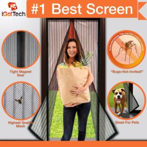 Magnetic Screen Door, Full Frame Velcro.