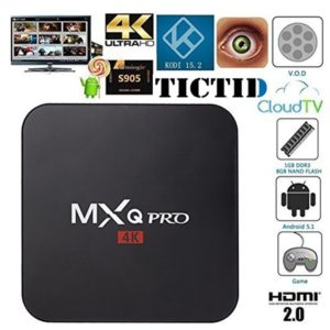 TICTID MXQ Pro TV Box Android Amlogic S905 Chipset Kodi 15 2 Full Loaded Android 5 1 Lollipop Quad Core 1G 8G 4K Google Streaming Media Players