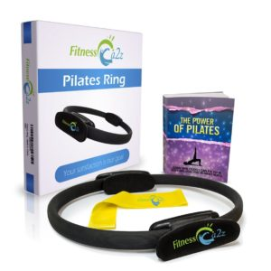 Pilates Ring - GREAT PACKAGE Includes-Fitness Magic Circle - Resistance Band - Ebook -3 Years Guarantee
