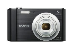 Sony DSCW800 - B 20.1 MP Digital Camera (Black)