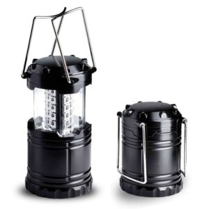 Ultra Bright LED Lantern - Best Seller - Camping Lantern - Collapses - Suitable for- Hiking, Camping, Emergencies, Hurricanes, Outages - Super Bright - Lightweight - Water Resistant - Black