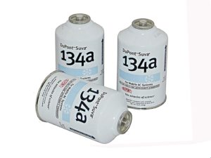 3 Cans R-134a DuPont Suva AC Automotive Refrigerant Freon R134a