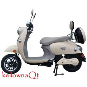 800W 48V Electric Moped Scooter
