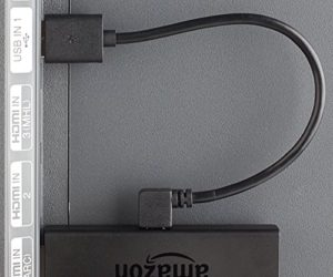 TVPower Mini 1A USB Power Cable for Powering Fire TV Stick