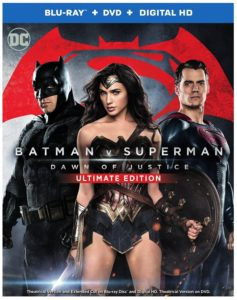 Batman v Superman Dawn of Justice (Ultimate Edition Blu-ray + Theatrical Blu-ray + DVD + Digital HD UltraViolet Combo Pack)