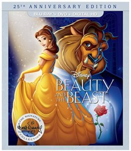 Beauty and the Beast 25th Anniversary Edition - (BD+DVD+DIGITAL HD) [Blu-ray]