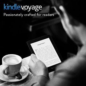 Kindle Voyage E-reader, 6 High-Resolution Display (300 ppi) with Adaptive Built-in Light, PagePress Sensors, Wi-Fi