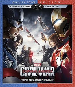 Marvel's Captain America Civil War 3D BD+BD+Digital HD [Blu-ray]