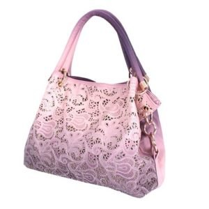 ORICSSON Ladys Fashion Hollow Out Patterns Handbag