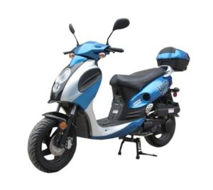 TaoTao POWERMAX-150 Gas Street Legal Scooter - Blue