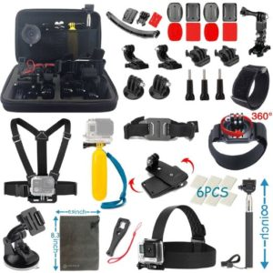 Vanwalk 22-in-1 Essentials Accessories Kit for Gopro Hero