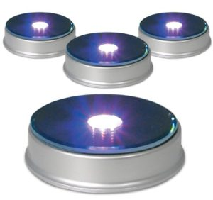 merchandise-display-base-led-lighted-silver-mirrored-top-color-changing-lights-pack-of-4