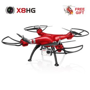 Syma X8HG New Altitude Hold Mode Headless RC Quadcopter with 8MP Camera-Re