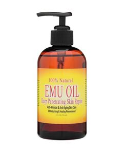100-natural-emu-oil-deep-penetrating-skin-repair-8-oz
