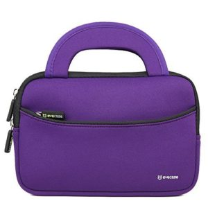 7-8-inch-tablet-sleeve-evecase-7-8-inch-tablet-ultra-portable-neoprene-zipper-carrying-sleeve-case-bag-with-accessory-pocket