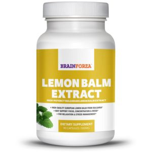 brain-forza-bulgarian-lemon-balm-extract-for-stress-focus-mood-support-90-veggie-capsules