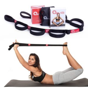 yoga-evo-elastic-stretching-strap-with-10-flexible-loops-ebook-35-online-stretch-video-exercises-and-pilates-workouts