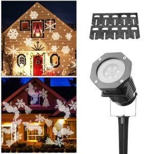 christmas-light-projector-ucharge-rotating-night-light-projector-snowflake-spotlight-10-slides-white-dynamic-lighting-landscape-led-projector-light-show-for-halloween-party-holiday-decoration