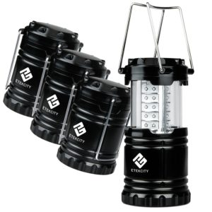 etekcity-4-pack-portable-outdoor-led-camping-lantern-with-12-aa-batteries-black-collapsible