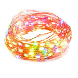 taotronics-multicolor-dimmable-100-led-string-lights-33-feet-copper-wire-multi-color